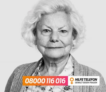 Hilfetelefon Gewalt gegen Frauen, © Bundesamt für Familie und zivilgesellschaftliche Aufgaben